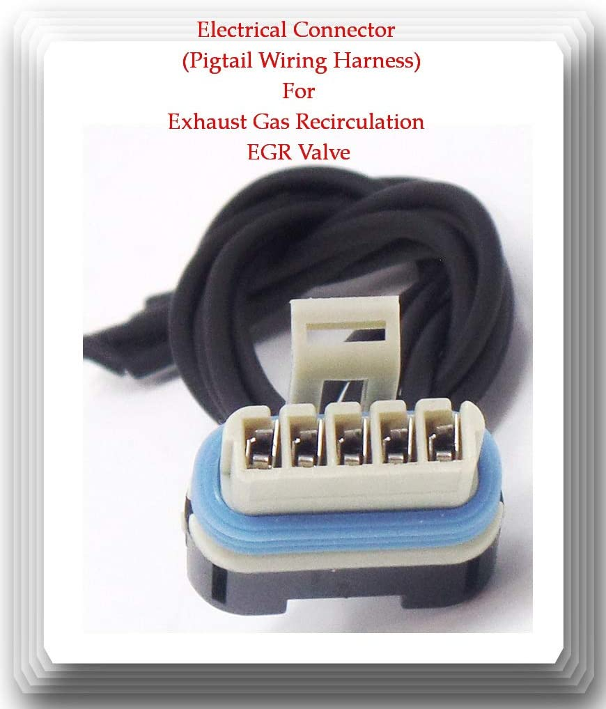 5 Wires Electrical Connector Directly managed store of discount EGV43 Exhaust Gas Recirculation