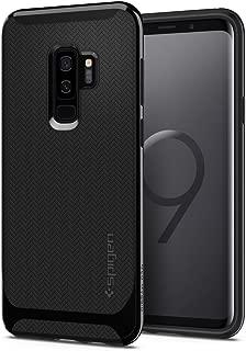 Capa Spigen para Galaxy S9 Plus (Tela 6.2), Spigen Neo Hybrid [Mil-Grade][Air Cushion][Dual Layer], Samsung Galaxy S9 Plus (Shiny Black)