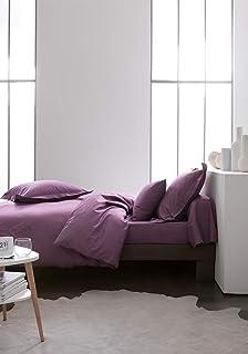 Today Drap-housse en coton - 201121 - Figue - 140 x 190 cm