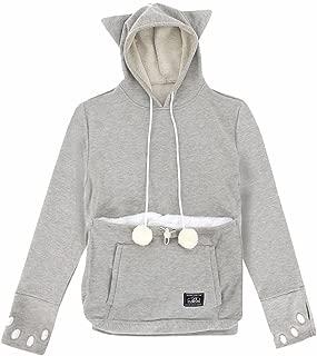 Unihabitat Mewgaroo Hoodie, Large, Grey