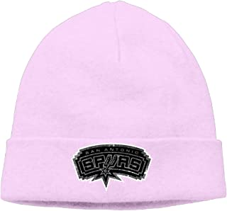 San Antonio Spurs Cool Black Up And Over Logo Hipster Beanie Woolen Watch Ski Hat