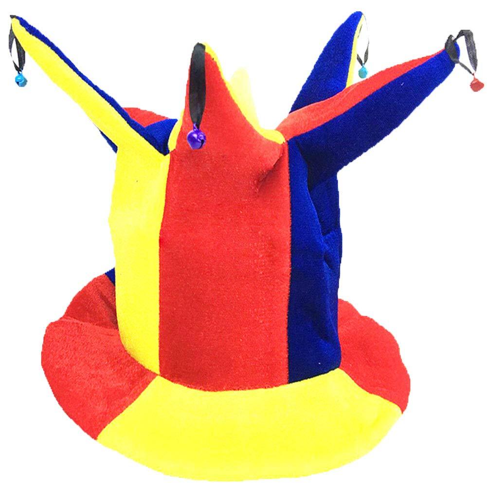Black Temptation Disfraz de Sombrero de Bufón Sombrero de Bufón ...