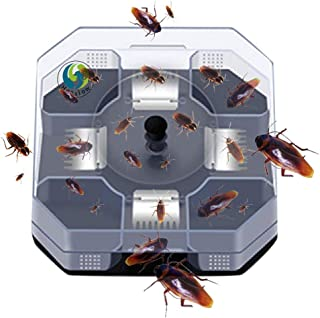 Henslow Patent Latest Invention Intelligent and Effective Cockroach Trap Capture All Kinds of Roaches Non-Toxic and Eco-Fr...