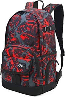 Rickyh style School Backpack Travel Bag for Men & Women Lightweight College Back Pack with Laptop Compartmen