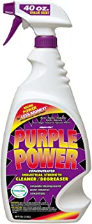 Purple Power 4319PS Industrial Strength Cleaner and Degreaser - 40 oz.