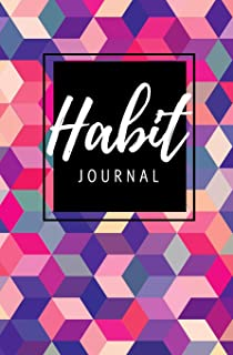 Habit Journal: Track your Habits & Make Real Change in Your Life - Daily Purse Sized Planner, Undated Habit Tracker That W...