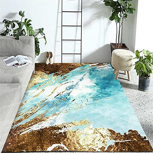 Tapis IKEA Tapis Extérieur Gazon Le Tapis Bleu Clair Clair est Magnifique et Confortable, antiTapis Salon 140x200cm
