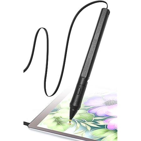 SonarPen(ソナーペン) スタイラスペン 筆圧感知 タッチペン Android タブレット イラスト 初代 iPad 対応 日本総代理店品 1年間国内保証 (Black)