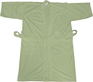 Canyon Rose Cloud 9 Men's Plush Microfiber Spa Robe, Sage, M/L