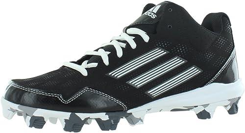 adidas Wheelhouse 2 Mid BSBL Men& 039;s Baseball and Softball schuhe Größe US 8, Regular Width, Farbe schwarz Weiß