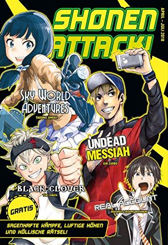 Shonen Attack Magazin #5: April bis Juli 2018