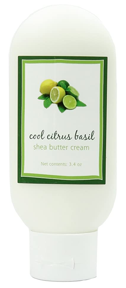 Shea Butter Cool Citrus Basil Cream by MoonDance Soaps - Handmade Moisturizers with Shea Butter and Aloe Vera