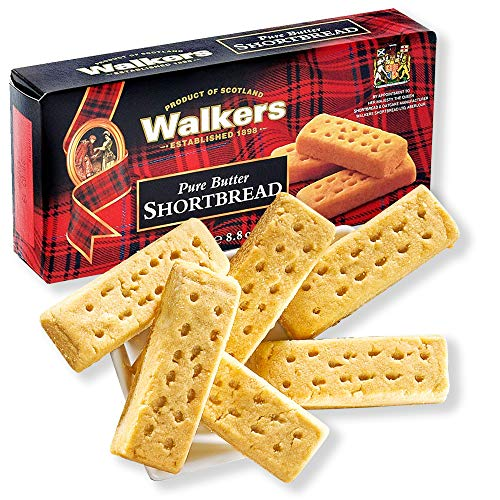 Walkers Shortbread Fingers - original englische Butterkekse - 3 für 2 Vorteilspackung (3 x 250g)
