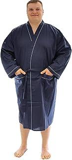 Espionage Men's Plain Traditional Dressing Gown