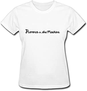 Women's Florence And The Machine Indie Rock Band T-shirt