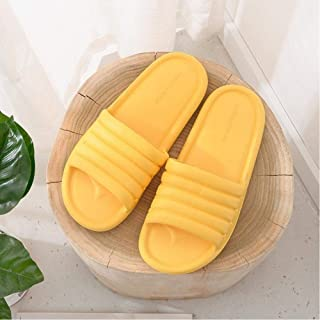 Unisex Summer Bathroom Slippers Couple Indoor Sandals