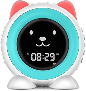 I·CODE All-in-one Kids Alarm Clock, Children's Sleep Trainer,Sleep Sound Machine & Touch Sensor Night Light