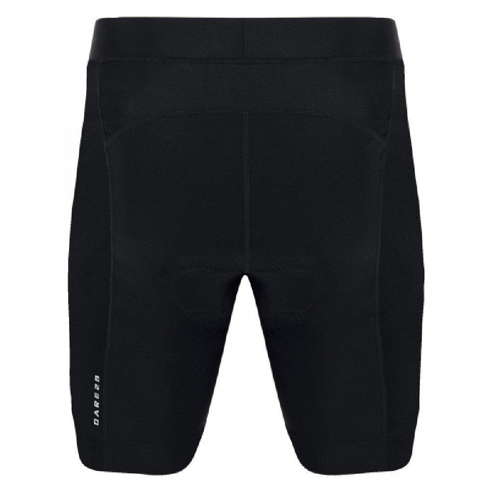 Dare 2b Herren sidespin Gel Cycle Shorts L schwarz/schwarz
