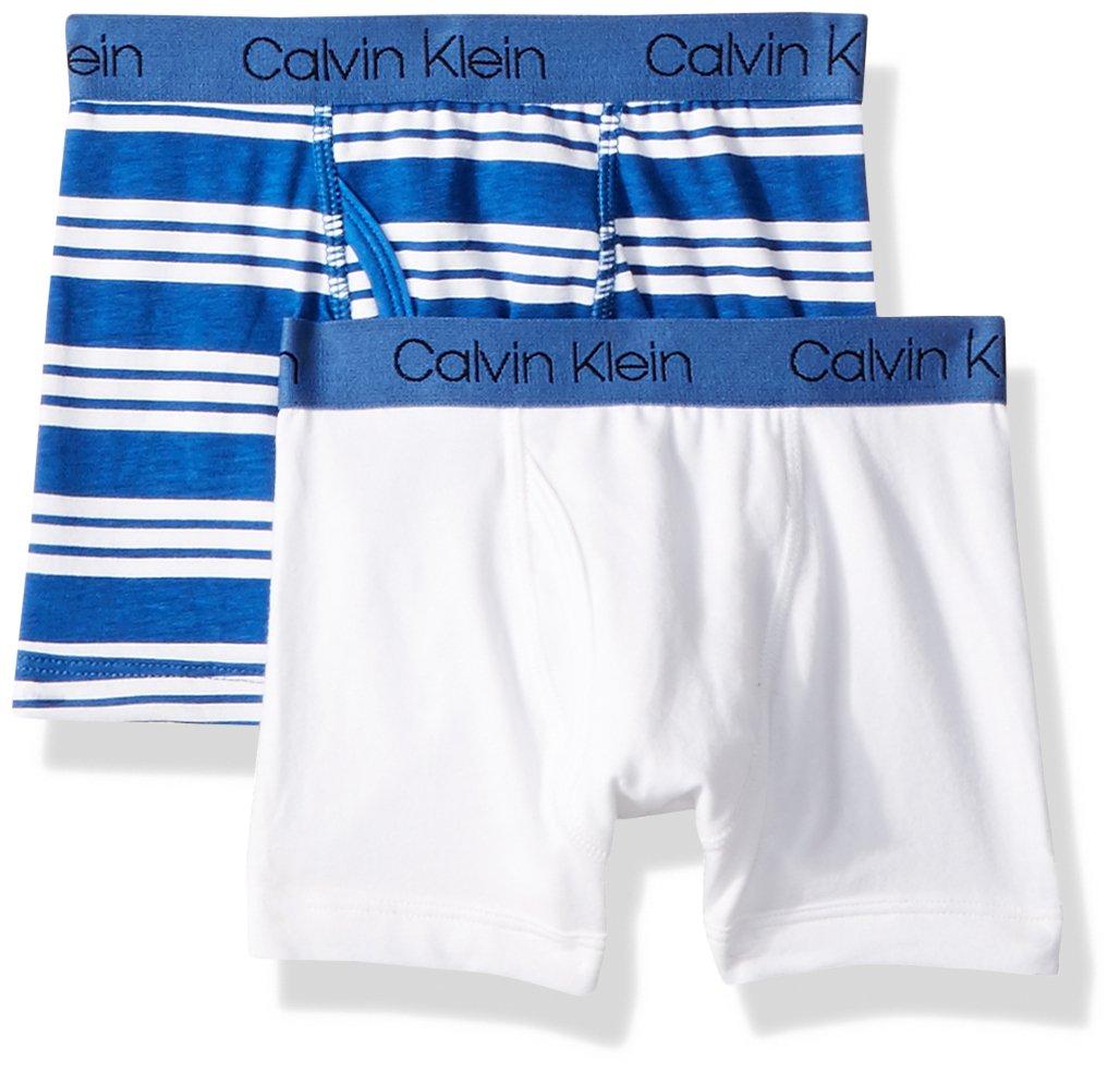 Calvin Klein Core 男式经典2件装棉质 span 平角内裤