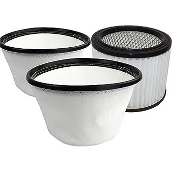 Kit de filtros de para BACOENG Aspiradora de Cenizas 20L: Amazon.es: Hogar