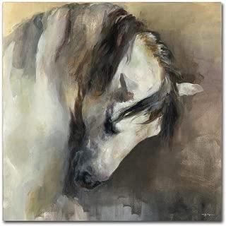 Classical Horse by Marilyn Hageman, 35x35-Inch Canvas Wall Art