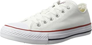 Converse Unisex Chuck Taylor All Star Ox Sneaker (13 Men 15 Women, Optical White)