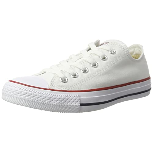 3777974ca7c7 Converse Unisex Chuck Taylor All Star Low Top Sneakers - (Optical White ) -  6