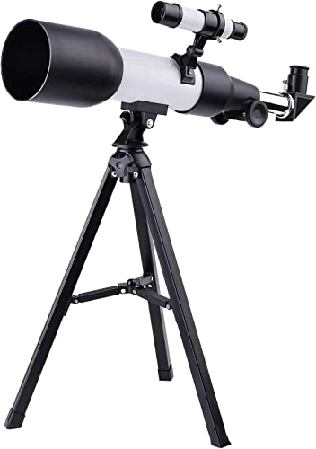 popular OPTIMISTIC popular Telescope for Kids, 150x Magnification Telescopes for Astronomy Beginners, Includes outlet sale Eyepieces, Tripod and Finder Scope, Monocular Astronomical Refracting Telescope for Kids & Adults sale