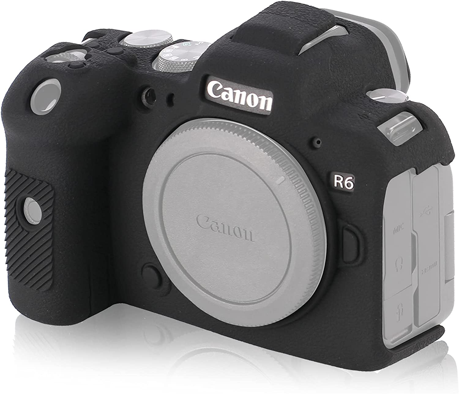STSEETOP Canon R6 Case Silicone Safety and Limited time sale trust Cover Rubber Camera C Soft