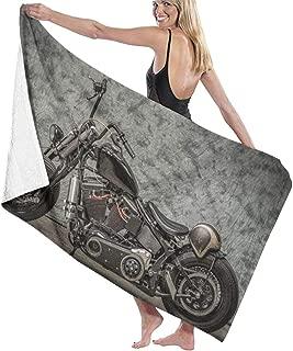 Serviette de plage Drap de bain Harley Davidson ® Patches moto beach towel
