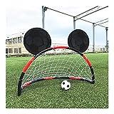 LLCCLL 2020 WISHOME Soccer Goal Set Portable Football Gate Soccer Net for Kids Outdoor Futbol Indoor Toys Family Game Gift for Children, Portable Football Goal. (Color : Kids Soccer Goal)