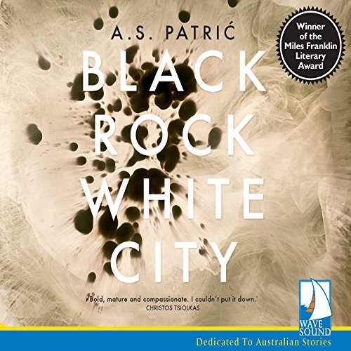 Black Rock White City audiobook cover art