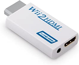Full 1080p 720P HD Wii to HDMI Converter Output 480i Upscaling Adapter