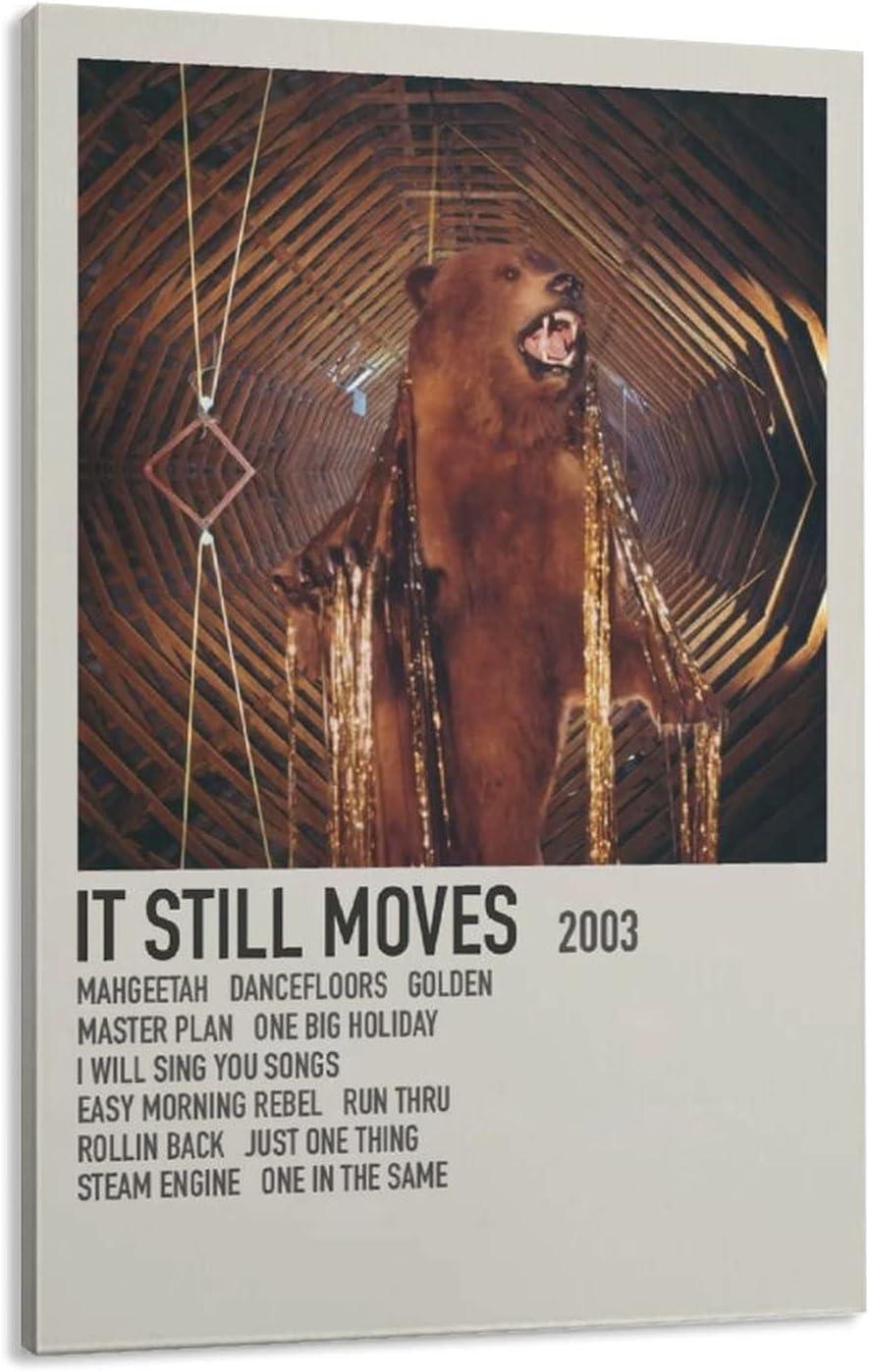 IT STILL MOVES-MY Trust MORNING JACKET Canvas Pr Virginia Beach Mall Poster Wall Art Decor