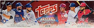2018 Topps HOBBY Version Factory Sealed Baseball 705 Card Set Including 5 FOILBOARD Parallels Found Exclusively in This Version Plus Rookies of Shohei Otani, Ronald Acuna, Rafael Devers Plus