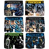 FREEGUN 8/10 Pack Batman Talla 8/10, Surtido 3pcs Infantil T1017-1, 8-10 para Niños