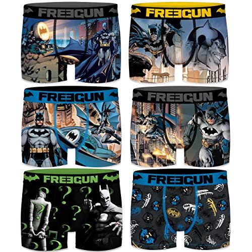 FREEGUN Boxer unitario Infantil Batman Talla 8/10 para Niños