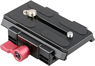 CAMVATE Quick Release Mount Base QR Plate for Manfrotto 501/504/ 577/701 Tripod Standard Accessory