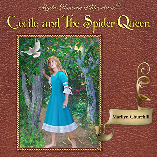 Cecile and the Spider Queen audiobook cover art
