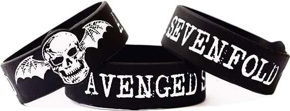 SayitBands Avenged Sevenfold One Inch Fan Wristband Bracelet