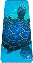 Yogamat - Eco-vriendelijke anti-slip oefening & fitness mat voor alle soorten yoga, pilates & vloeroefeningen, cartoon bla...
