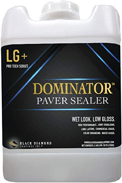 5 Gallon DOMINATOR LG Wet Look Low Gloss Paver Sealer Covers Up To 2 000 Square Feet
