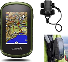 Garmin eTrex Touch 35 Hiking GPS Bundle | with Backpack Tether Mount | Touchscreen Handheld, 3-axis Compass, Barometric Altimeter
