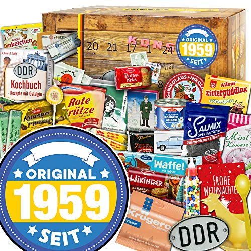 Original seit 1959 - Advent Kalender - DDR Paket