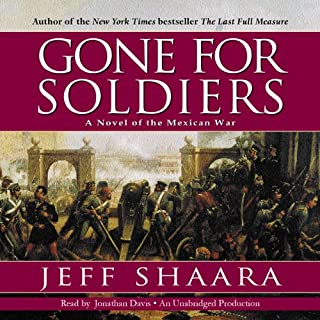 Gone for Soldiers audiobook cover art
