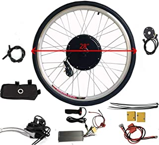 """WUPYI2018 Kit de vélo électrique Conversion Kit 36 V 28"""" pour vélo électrique, vélo électrique, kit de conversion avec mot..."""