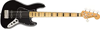 Squier by Fender Classic Vibe 70's Jazz Bass V - Maple - Black
