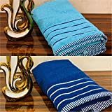 MIL Furnishings Absorbent 480 GSM Bath Towels Large Size for Men/ Women 70