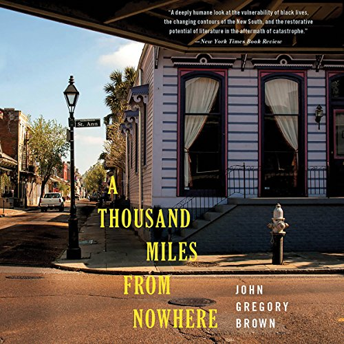 A Thousand Miles from Nowhere audiobook cover art