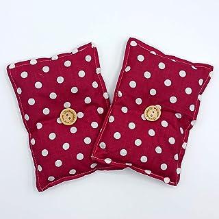 """Mini cuscino""""Dormi Bene - Anima fucsia"""" (confezione con 2 unità) pieno di semi di lavanda bio - mettilo sotto al tuo cusci..."""